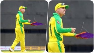 Stray Kite Stops Play, 1st ODI Match Between India and Australia Witnesses Bizarre Interruption (Watch Video)