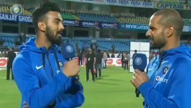 Shikhar Dhawan Jokes About Rishabh Pant Being Fully Fit As KL Rahul Impresses With his Wicket-Keeping Skills, Watch Video