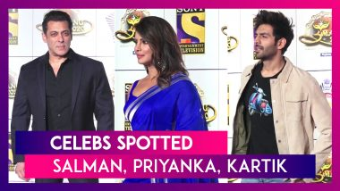 Salman Khan, Priyanka Chopra, Kartik Aaryan & Others Seen In The City I Celebs Spotted