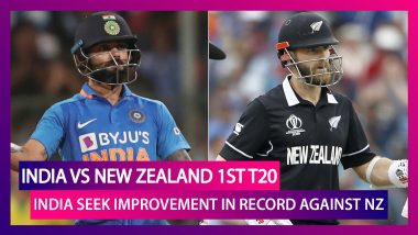 India vs New Zealand 2020, 1st T20I At Auckland Preview: India Seek Improvement In Record Against NZ