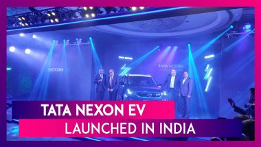 Tata Nexon EV India's Most Affordable Electric SUV Launched; Check Prices & Features