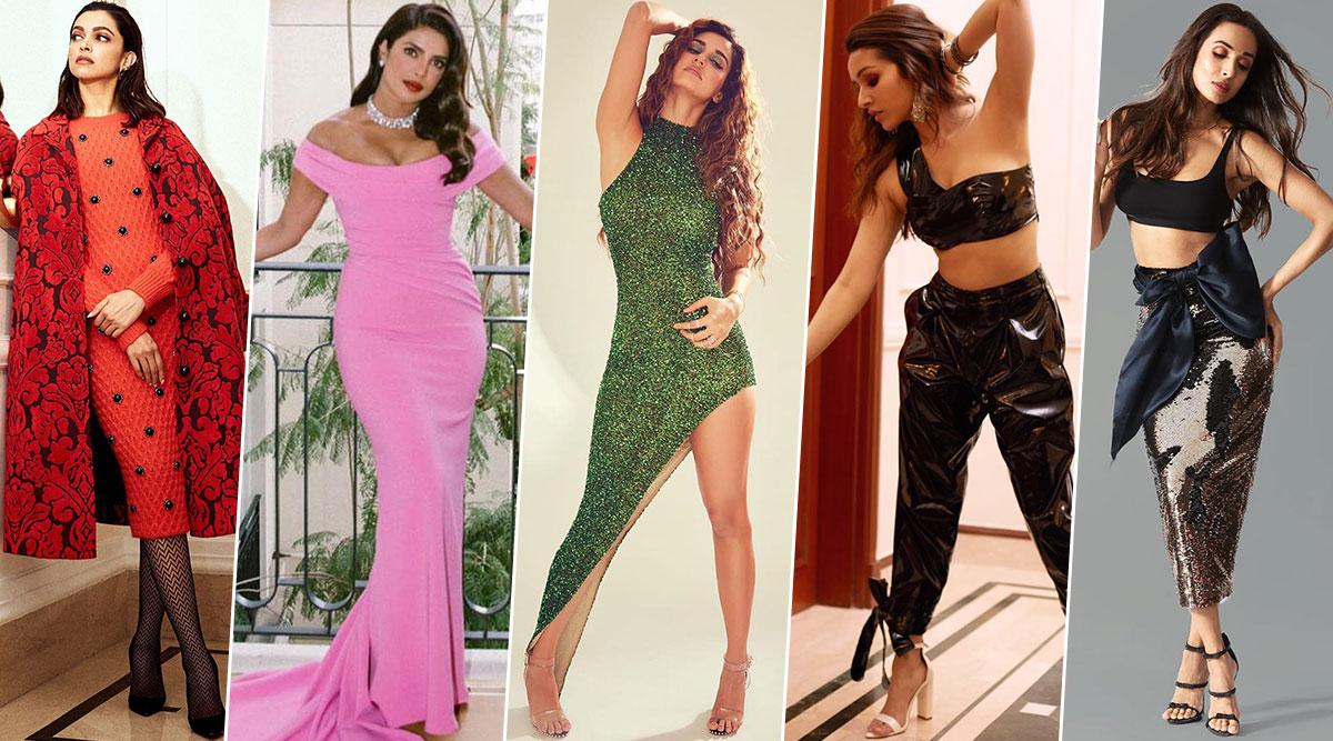 Deepika Padukone, Priyanka Chopra, Kangana Ranaut, Malaika Arora, Shraddha Kapoor and Disha Patani Delight With Their Stunning Styles This Week (View Pics)