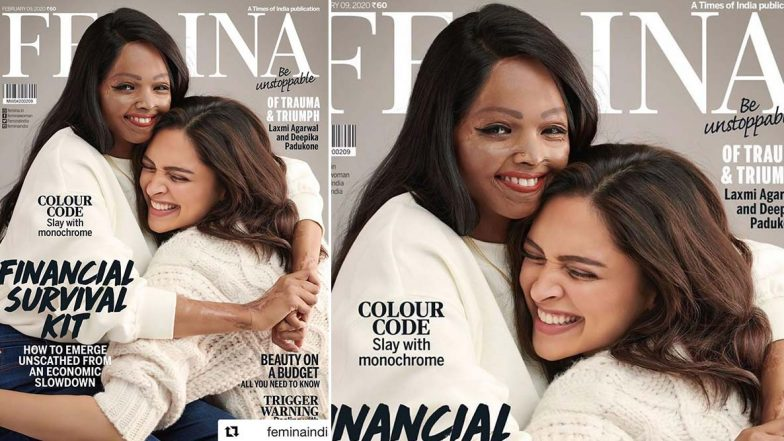 Deepika Padukone and Laxmi Agarwal Shine Like Brightest of Stars On The Cover of Femina Magazine February 2020 Issue (View Pic)