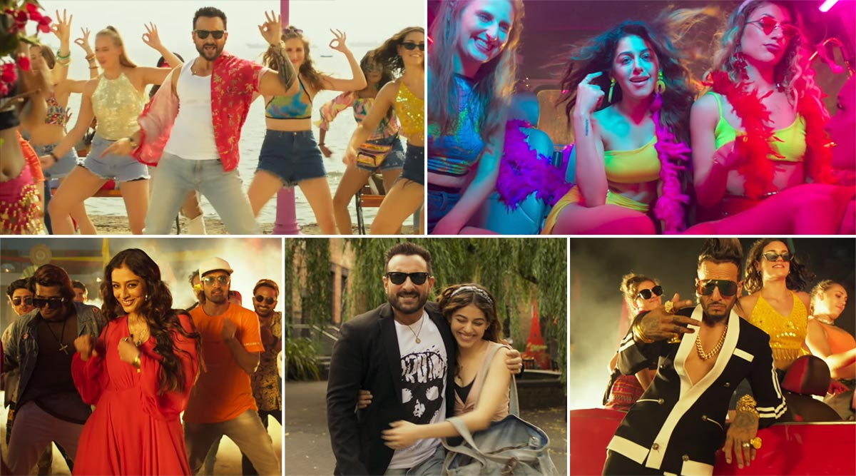 Jawaani Jaaneman Song Gallan Kardi: Saif Ali Khan and Alaya F's Energetic Track Will Make You Go 'Oho!' (Watch Video)