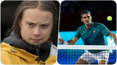 Roger Federer Becomes Credit Suisse Brand Ambassador, Gets Subtly Attacked by Environmental Activist Greta Thunberg! Here's Why