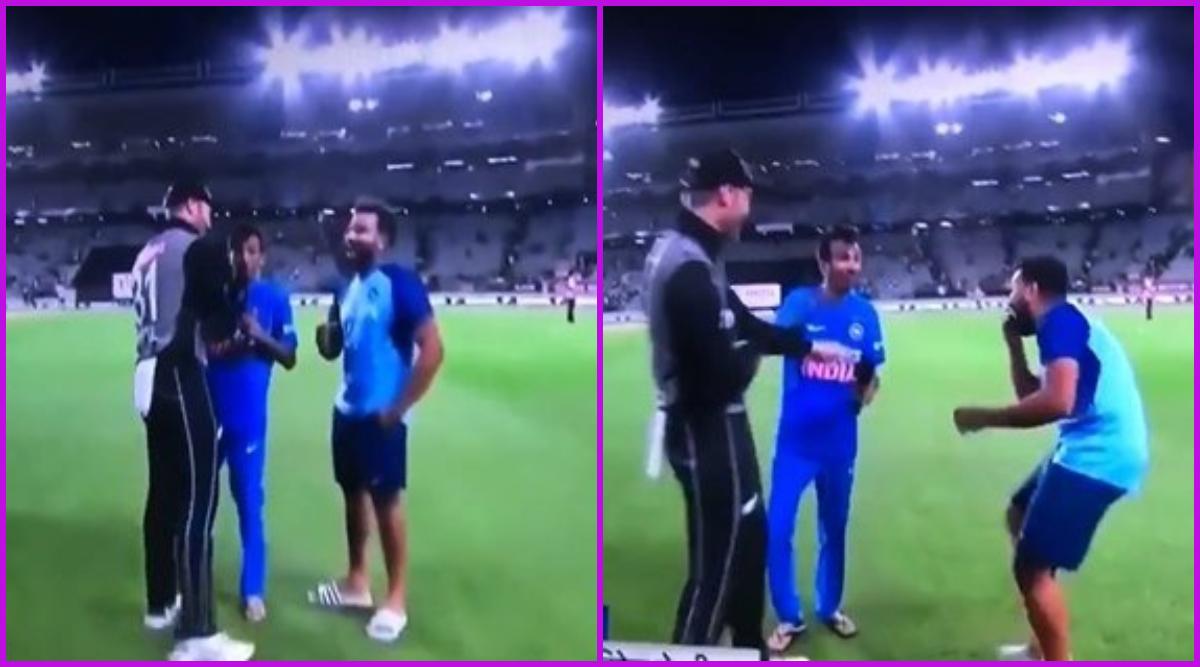 Martin Guptill Calls Yuzvendra Chahal 'Ga**u' On Air Following India vs New Zealand 2nd T20I 2020 in Auckland, Watch Viral Video