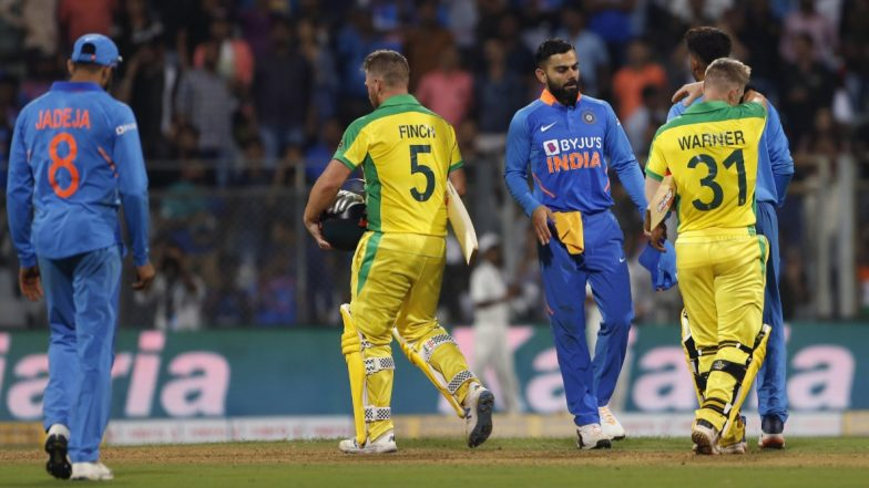 Live Cricket Streaming of India vs Australia 2nd ODI 2020 on DD Sports, Hotstar and Star Sports: Watch Free Live Telecast of IND vs AUS on TV and Online