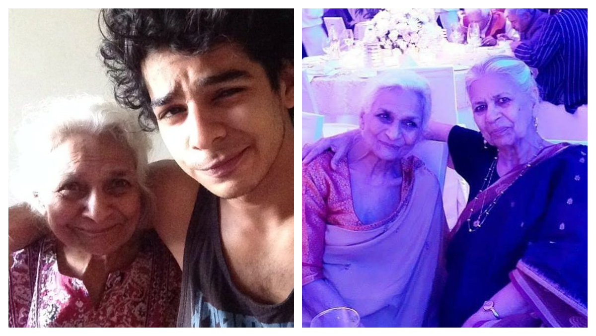 Ishaan Khatter's Grandmother Passes Away, Actor Pens a Note Sharing His Grief (See Pics)