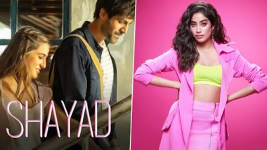 Janhvi Kapoor Is 'Obsessed With' Sara Ali Khan And Kartik Aaryan's Shayad Song From Love Aaj Kal