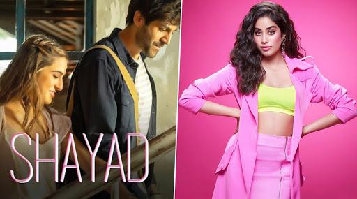 Janhvi Kapoor Is 'Obsessed With' Sara Ali Khan And Kartik Aaryan's Shayad Song From Love Aaj Kal