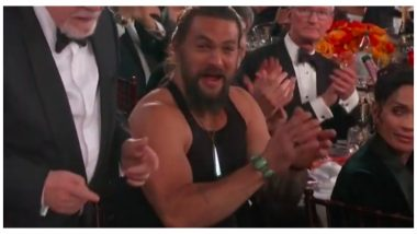 Golden Globes 2020: Jason Momoa Attends Ceremony In A Tank Top, Twitter Falls In Love With Him All Over Again