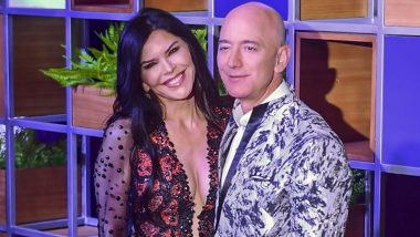 Jeff Bezos and Girlfriend Lauren Sanchez Make Their Glamorous Red Carpet Debut as a Couple at Mumbai's Amazon Event (View Pic)