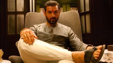 John Abraham's Look from Sanjay Gupta's Mumbai Saga revealed (View Pic)