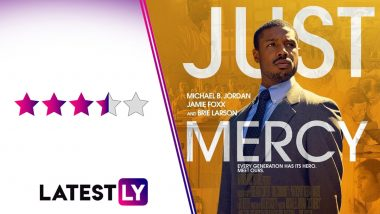 Just Mercy Movie Review: Jamie Foxx's Moving Performance Stands Out in Michael B Jordan, Brie Larson's Engaging Legal Drama