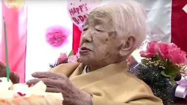 Kane Tanaka, World's Oldest Person Turns 117! Japanese Supercentenarian Talks About Diet as She Breaks Her Own Record (Watch Birthday Video)