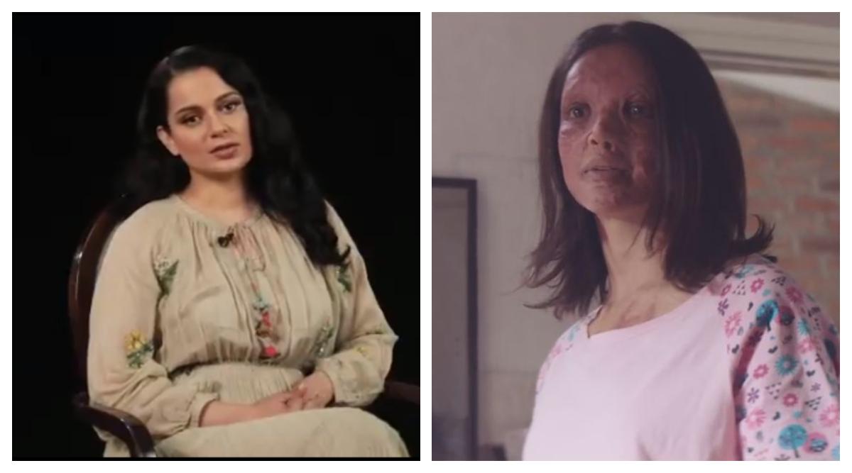 Kangana Ranaut Promotes Deepika Padukone's Chhapaak With This Emotional Video