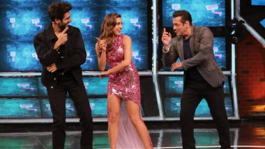 Bigg Boss 13: Sara Ali Khan and Kartik Aaryan Shake a Leg With Salman Khan to Promote Love Aaj Kal (See Pics)