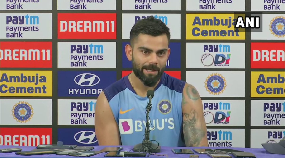 Virat Kohli Asks for Batsmen to be More Ruthless After 10-Wicket Humiliation in 1st ODI Match Against Australia