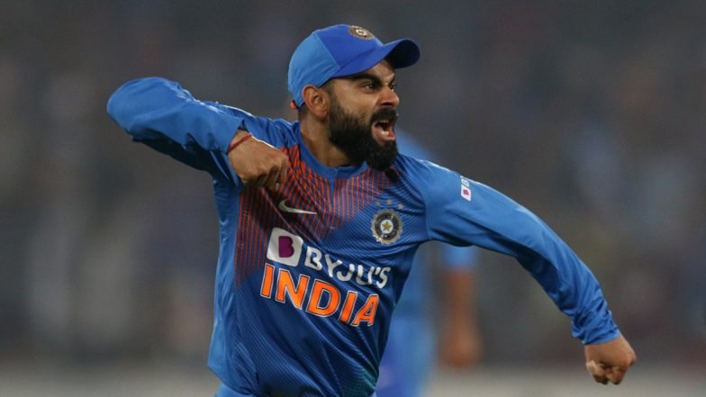 Virat Kohli Becomes Fastest to Score 5000 Runs as ODI Skipper, Achieves Feat During India vs Australia 3rd ODI