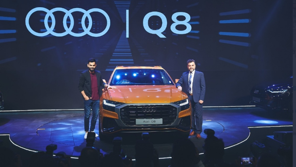 Virat Kohli Delighted to Launch Audi Q8 in India Days After Spotted Driving The Luxury Car Priced at 1.33 Crore! (View Pic)