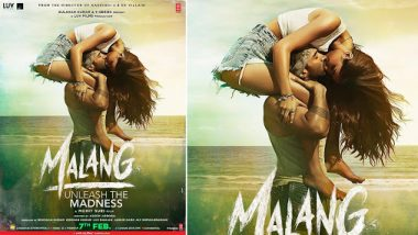 Malang Poster: Aditya Roy Kapur And Disha Patani's Kiss Is Strangely Sexy (View Pic)