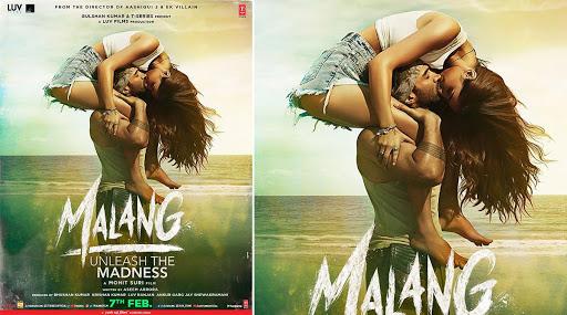 Malang Poster: Aditya Roy Kapur And Disha Patani's Kiss Is Strangely Sexy (View Pic)