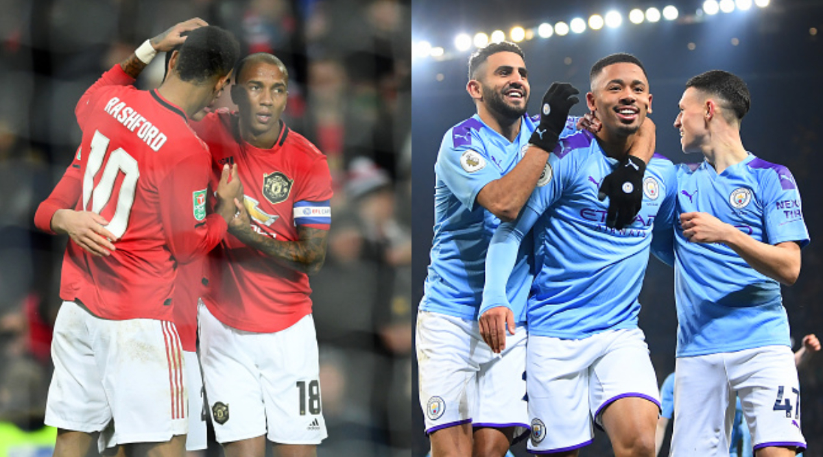 Man United vs Man City Carabao Cup 2019–20 Live Streaming Online: How to Watch Free Live Telecast of Football League Cup Semi-Final Leg 1 Match in Indian Time?