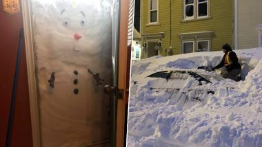 'Bomb' Blizzard Burries Cars, Garages and Homes Under Snow in Newfoundland! People Share Pictures and Videos on Twitter
