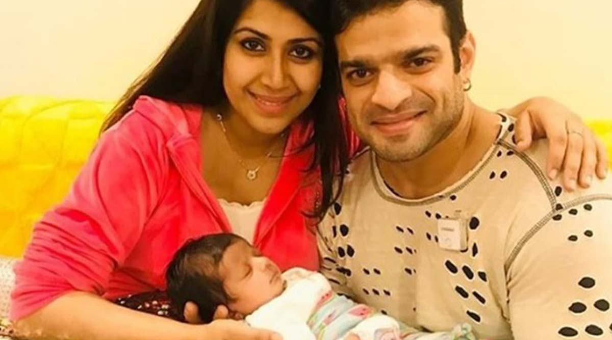 Karan Patel and Wife Ankita Bhargava Share the FIRST Full Picture of Daughter Mehr and Later Delete It!