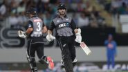 India vs New Zealand 2nd T20I 2020 Live Score: Hosts NZ Opt to Bat, Both Teams Unchanged