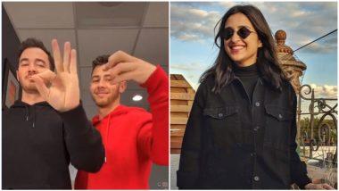 Nick Jonas Messes Up TikTok Video, Leaves Sister-In-Law Parineeti Chopra Laughing (See Pic)
