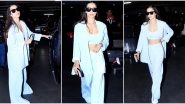 Malaika Arora's Blue Pantsuit is the New Airport Staple that we are Drooling Over (View Pics)