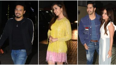 Varun Dhawan's Girlfriend Natasha Dalal and Shraddha Kapoor's Rumoured Boyfriend, Rohan Shrestha attend Street Dancer 3D Screening (View Pics)