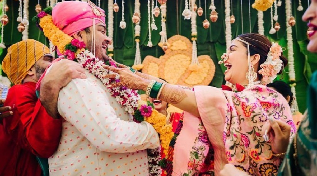 Shardul Bayas-Nehha Pendse Make a Stunning Husband-and-Wife Duo! View Pics from Their Wedding Ceremony and Reception