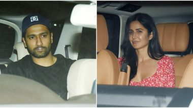 Pics of Katrina Kaif and Vicky Kaushal Paying a Visit at a Friend's Residence Hit the Internet, and Netizens Declare Them as 'Beautiful Couple'