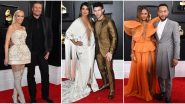 Grammys 2020: From Priyanka Chopra - Nick Jonas to John Legend - Chrissy Teigen, Check out Hollywood Couples who Ruled the Red Carpet (View Pics)