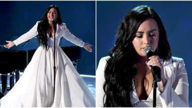 Grammys 2020: Demi Lovato Debuts her New Song 'Anyone' and Fans are Hailing her Comeback