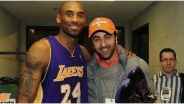 Kobe Bryant Demise: Rishi Kapoor Shares a Throwback Pic of Ranbir Kapoor with the NBA Legend, and It'll Melt Your Heart