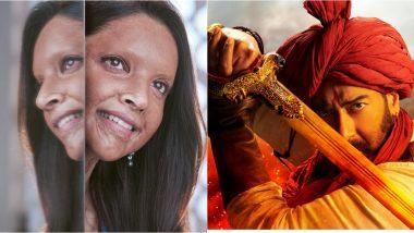 Chhapaak Box Office Collection Day 1: Deepika Padukone's Film Earns Rs 4.77 Crore; Ajay Devgn's Tanhaji Rules at the BO