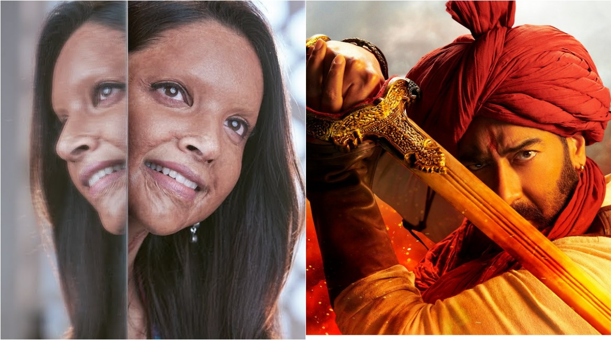 Chhapaak Box Office Collection Day 1: Deepika Padukone's Film Earns Rs 4.77 Crore; Ajay Devgn's Tanhaji Rules at the BO