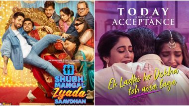 Shubh Mangal Zyada Saavdhan Trailer: Can Ayushmann's Film Succeed in Bringing Homosexuality to Mainstream Cinema After Sonam's Attempt to Do So Failed?