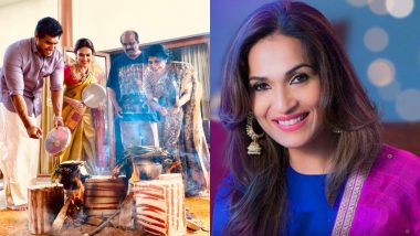 Soundarya Rajinikanth Wishes All Her Fans a Very 'Happy Pongal'; Promises to Share a Pic with Thalaivar Soon