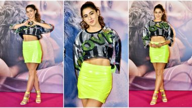 Sara Ali Khan's Bright Yellow Skirt May be too Loud for your Weekend Party but Who Cares? (View Pics)