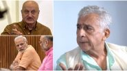 Naseeruddin Shah Calls Anupam Kher a 'Clown'; Mocks PM Narendra Modi's 'Entire Political Science' Degree (Watch Video)