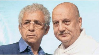 Naseeruddin Shah Gets Trolled on Twitter for Calling Colleague Anupam Kher a 'Clown' and 'Sycophant' (Read Tweets)