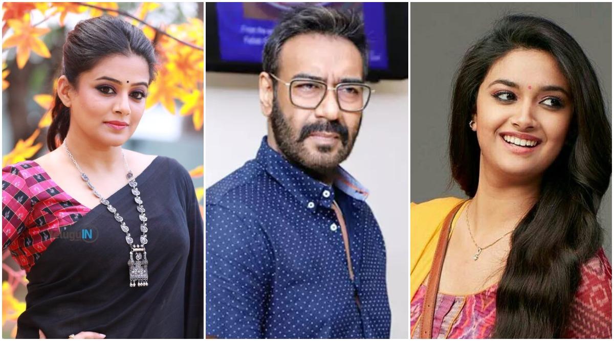 National Award Winner Priyamani Replaces Keerthy Suresh in Ajay Devgn's Maidaan?