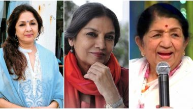 Shabana Azmi Car Accident: Lata Mangeshkar, Neena Gupta, Arvind Kejriwal Wish the Veteran Actress a Speedy Recovery