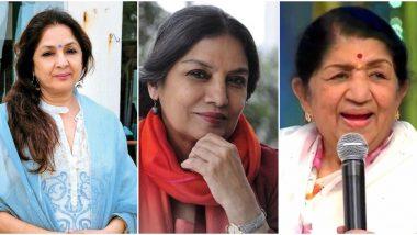 Shabana Azmi Car Accident: Lata Mangeshkar, Neena Gupta, Arvind Kejriwal Wish the Veteran Actress a Speedy Recovery