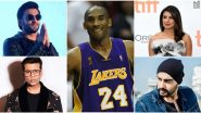 Kobe Bryant No More: Priyanka Chopra, Ranveer Singh, Karan Johar, Arjun Kapoor, Abhishek Bachchan Pay Moving Tributes to the NBA Legend