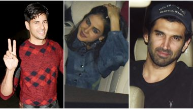 Sidharth Malhotra Turns 35! Genelia Deshmukh, Aditya Roy Kapur and Others Attend the Actor's Birthday Bash (View Pics)